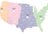 Časová pásma v USA