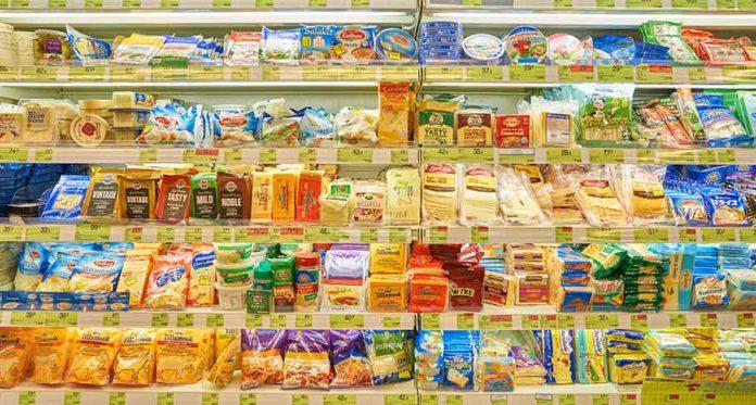 Cena jídla v USA