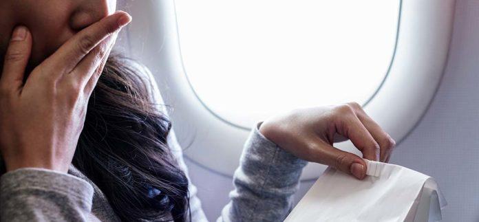 Nevolnost v letadle