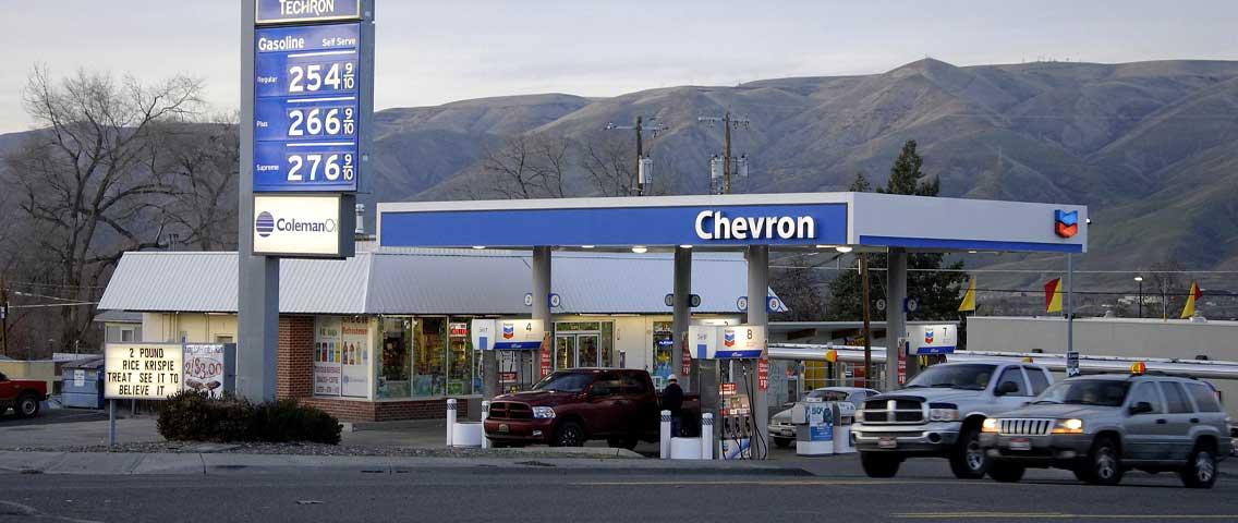 Jak natankovat benzín v USA