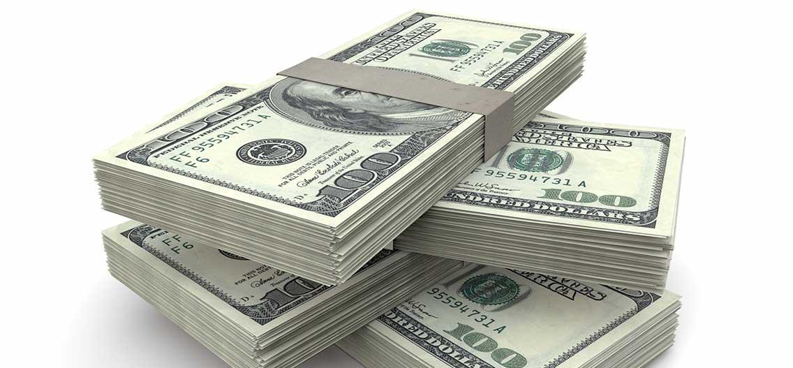 Peníze Dollar v USA