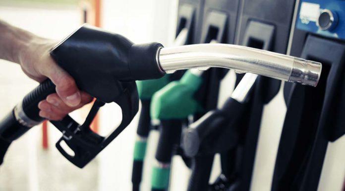 Cena benzínu v USA