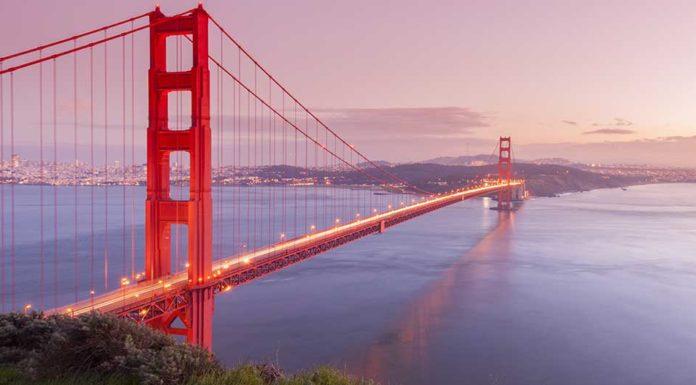 most Golde Gate Bridge v San Francisku