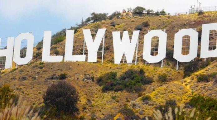 Nápis Hollywood v Los Angeles