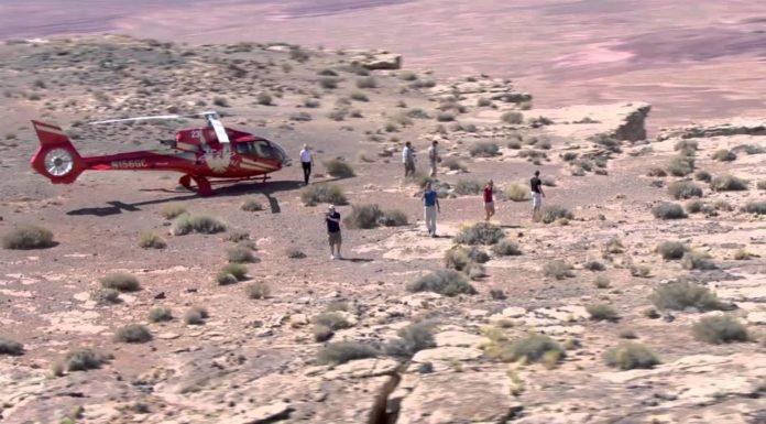 Lety helikoptérou