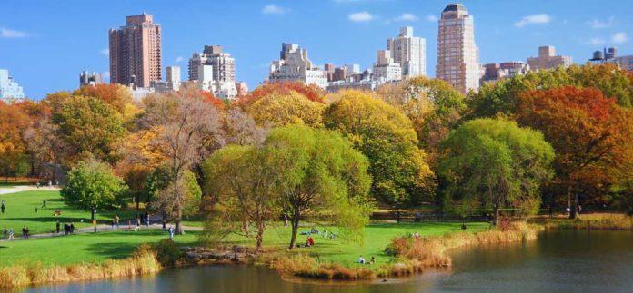 Počasí v New Yorku v říjnu