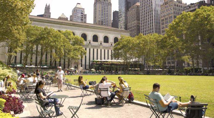 Počasí v New Yorku v srpnu
