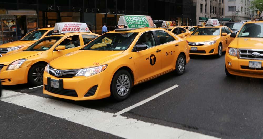 Taxiky v New Yorku