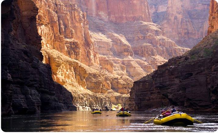 Rafting v Grand Canyonu