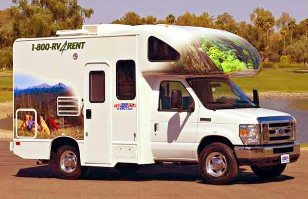 RV - karavan v USA