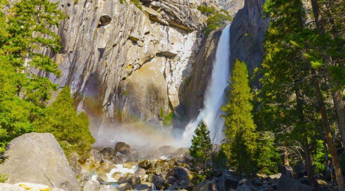 Lower Yosemite vodopád
