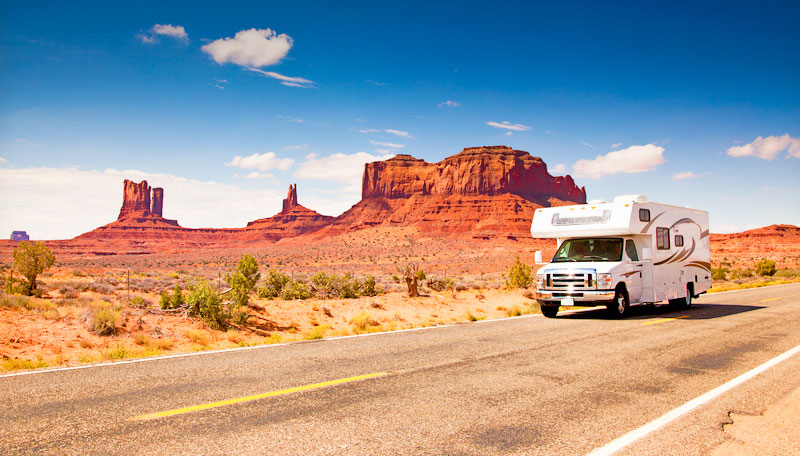 Jak půjčit karavan v USA