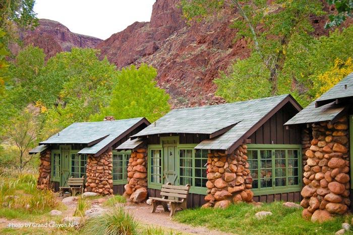 Ubytování v Grand Canyonu