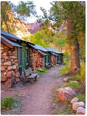 Ubytování v Grand Canyon