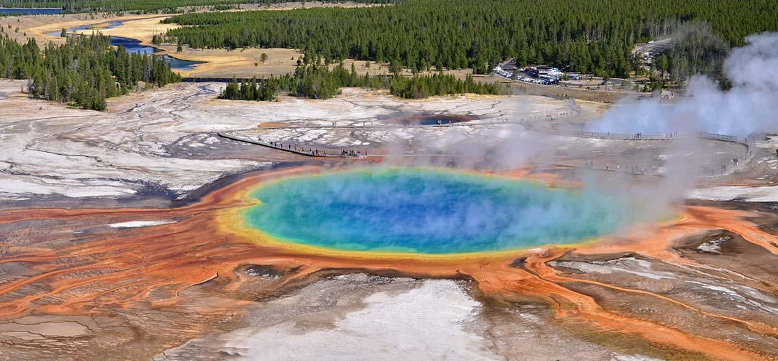 Yellowstone národní park