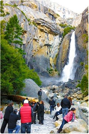 Dolní Yosemitský vodopád