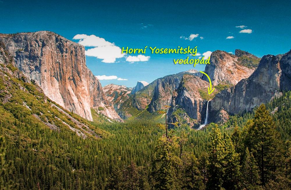 Horní Yosemitský vodopád