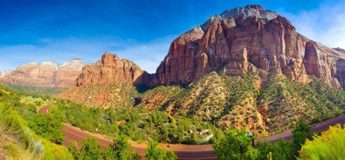 Zion národní park