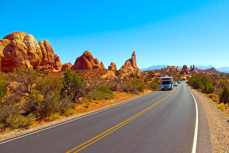 Národní park Arches v Utahu