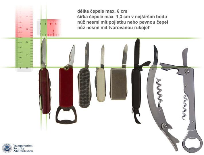 Nůž do letadla
