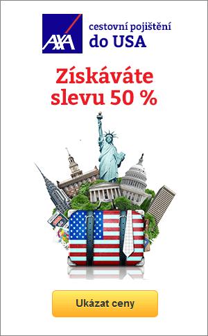 cestovní pojištění do USA