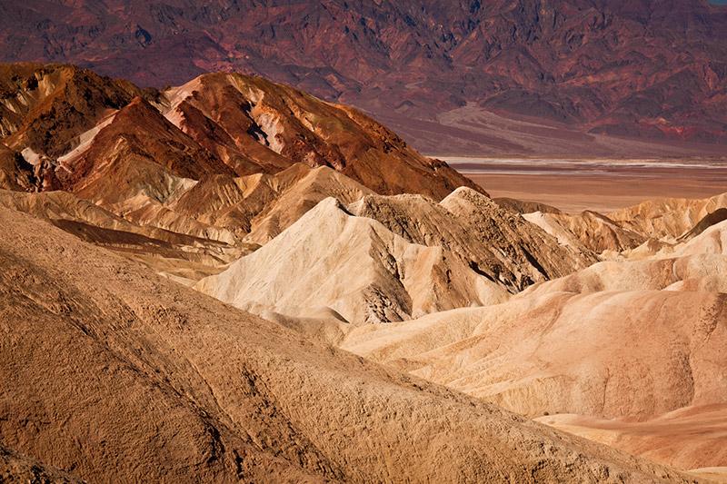 Zabriskie Point v Údolí smrti