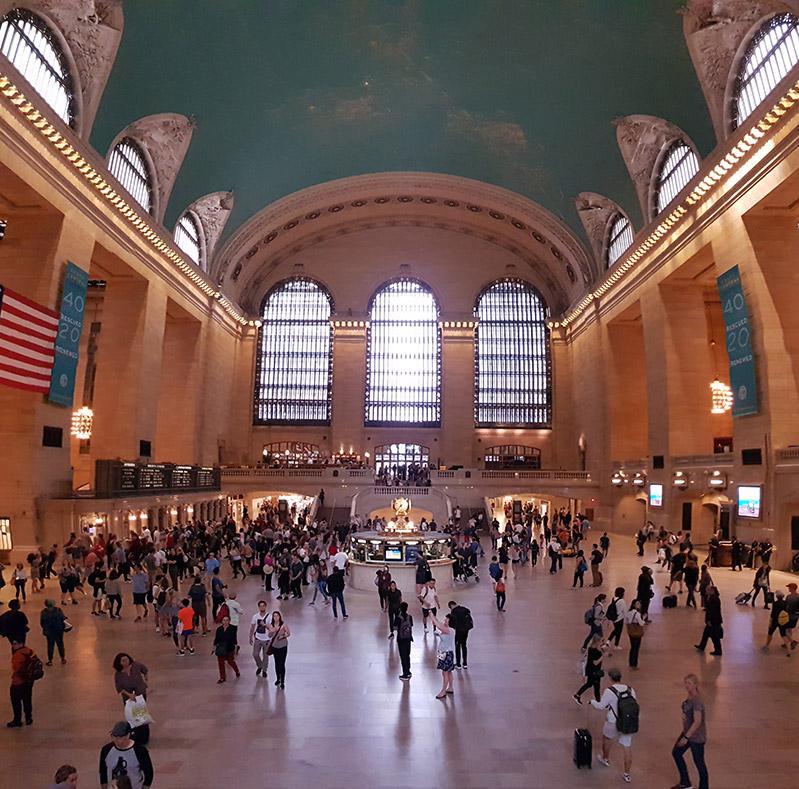 New York Grand Central Terminal - vlakové nádraží