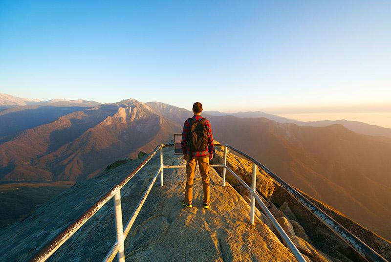 Moro Rock Sequoia národní park