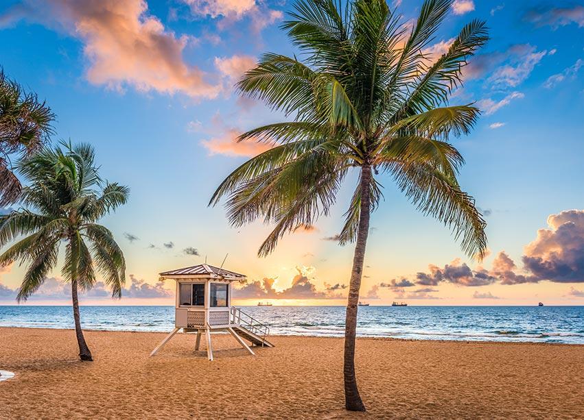 Pláže na Floridě