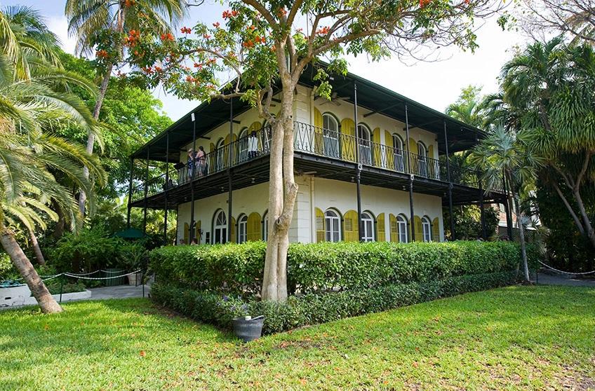 Ernest Hemingway - dům, do kterého se nastěhoval začátkem 30. let