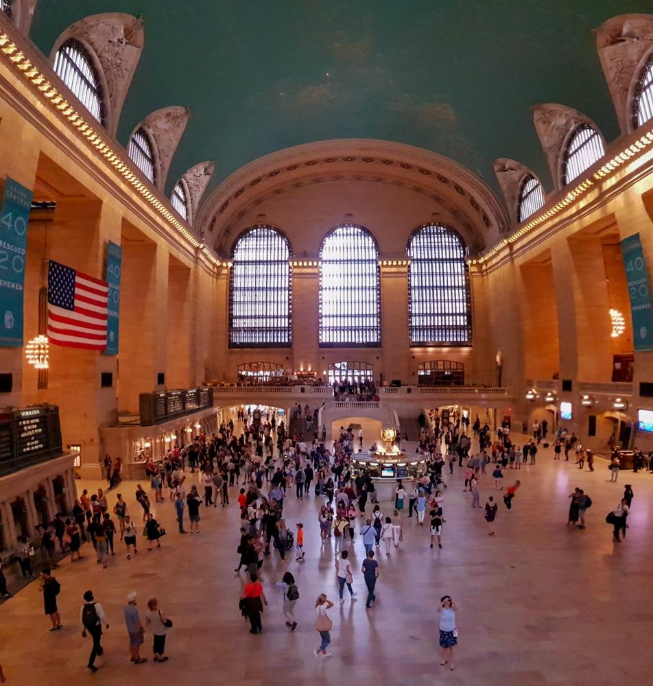 Grand Central - nejznámější newyorské vlakové nádraží