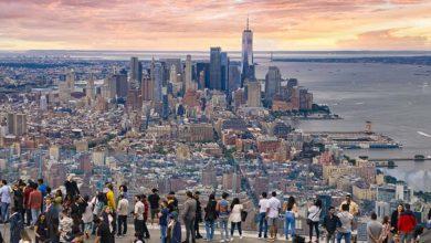 Edge Observation Deck v New Yorku