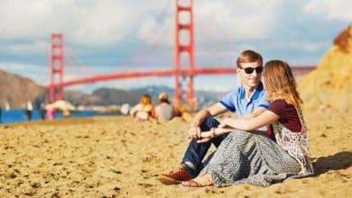 Pláže v San Francisku